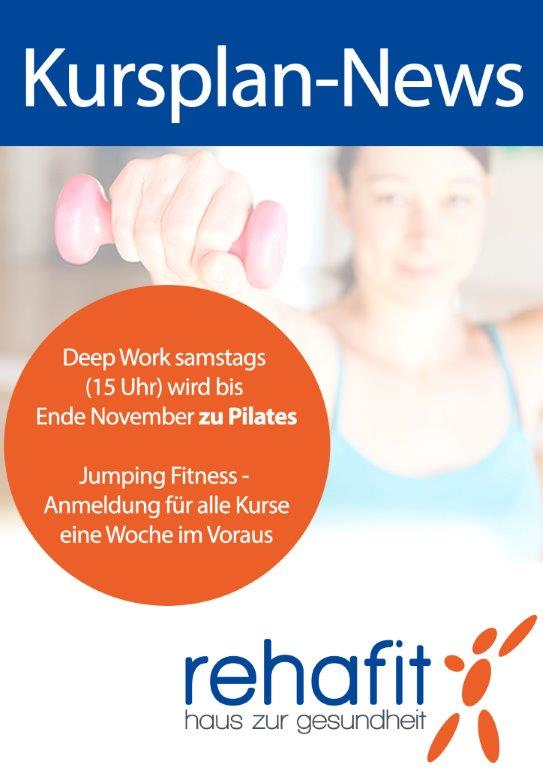 Pilates statt Deep Work 2 Monate