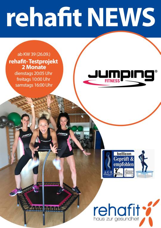 Jumping Fitness A2 Plakat 14 003 540