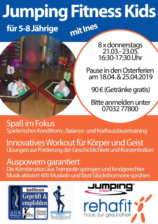 Jumping Fitness Kids A2 Plakat 16.01.2019 540